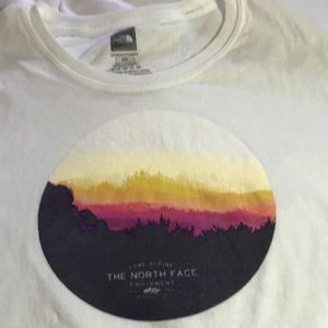 North face athletic tee